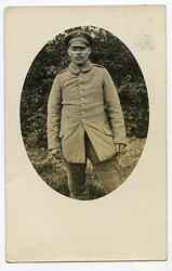 1.Weltkrieg Foto: Angehöriger des Deutschen Heeres