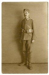 1.Weltkrieg Foto, Angehöriger des Flieger-Batallion 6 des Deutschen Heeres