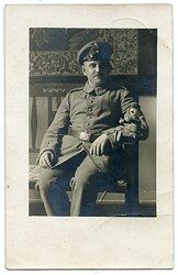 1.Weltkrieg Foto, Unteroffizier des Deutschen Heeres