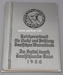 III. Reich - Reichsverband für Zucht und Prüfung Deutschen Warmbluts - Ehrengeschenk