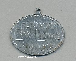 Hessen Geschenk der Großfürstin Eleonore und ihres Gemahls Ernst Ludwig an die hessischen Truppen zum Weihnachtsfest 1916