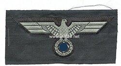 Wehrmacht Heer Brustadler für die schwarze Panzerjacke