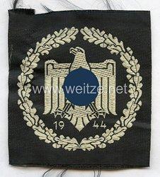 Nationalsozialistischer Reichsbund für Leibesübungen ( NSRL ) , Leistungsabzeichen in Silber mit Jahreszahl 1944