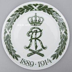 """Königreich Sachsen Meissen-Regimentsteller """"3. Sächs. Feldartillerie-Rgt. Nr. 32"""""""