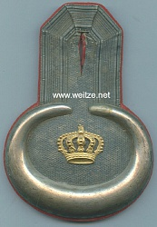 Baden Einzel Epaulette für einen Leutnant im Leib Grenadier Regt. 109