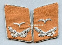 Luftwaffe Kragenspiegel Leutnant Luftnachrichten