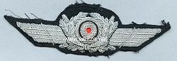 Luftwaffe Schirmmützenschwinge mit Kokarde für Offiziere