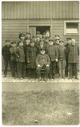 Foto, Angehörige des Deutschen Bahnpolizei