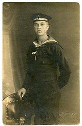 1. Weltkrieg Foto, Angehöriger der Kaiserliche Marine Werft.Division.I