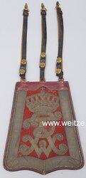 Preußen Säbeltasche für Offiziere im Leibgarde-Husaren-Regiment