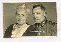 Foto, Angehöriger der Wehrmacht