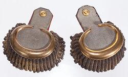 Königreich Sachsen Paar Epauletten für einen Generalmajor
