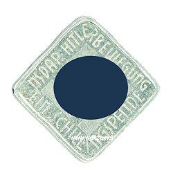 III. Reich - Österreich / NSDAP - Hitlerbewegung - Spendenmarke über 1 Schilling