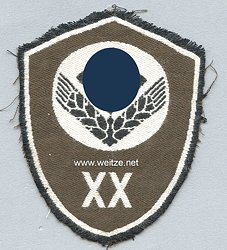 """RAD weiblich Ärmelschild """"XX"""" für Mannschaften (Alpenland Innsbruck)"""