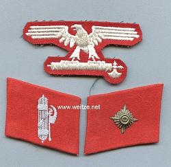Ärmeladler und Paar-Kragenspiegel der 29. Waffen-Gren.-Div. der SS (italienische Nr.1)
