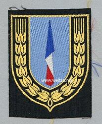 Frankreich 2.Weltkrieg Vichy Regierung Stoffabzeichen für Führer im Arbeitsdienst der militärischen industriellen Produktion