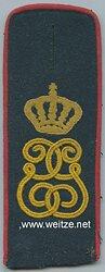 Sachsen Einzel Schulterklappe für Mannschaften im Infanterie-Regiment König Georg Nr. 106
