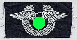 Großes Brustabzeichen für Zivilangestellte der Luftwaffe