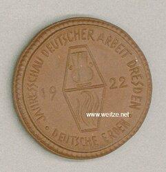 """Weimarer Republik - Jahresschau Deutscher Arbeit Dresden 1922 """" Deutsche Erden """""""