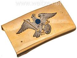 III. Reich Preussen Koppelschloß für Bergbaubeamte