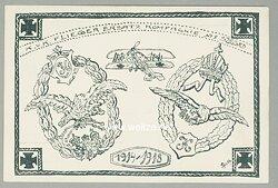"""Fliegerei 1. Weltkrieg - Werbepostkarte """" K.u.K. Flieger Ersatz Kompagnie No. 5 Szeged 1914-1918 """""""