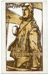 1. Weltkrieg - farbige Propaganda-Postkarte