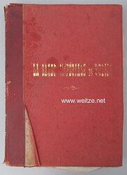 Rußland großes Geschenk-Fotoalbum der russischen Garde an König Viktor Emanuel von Italien. (ZU NR: 228216)