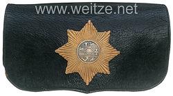 Mecklenburg-Strelitz großer Kartuschkasten für Mannschaften Feldartillerie-Regiment Nr. 24, III. Batterie