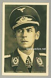 Luftwaffe - Originalunterschrift von Ritterkreuzträger Oberstleutnant Ernst Gürke