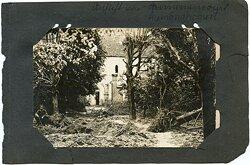 Fotos Erster Weltkrieg: Frankreich Kirche von Auménancourt