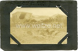 Fotos Erster Weltkrieg: Frankreich zerstörtes Dorf von Loivre