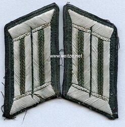 Wehrmacht Heer Paar Kragenspiegel für einen Beamten der Technischen Laufbahn