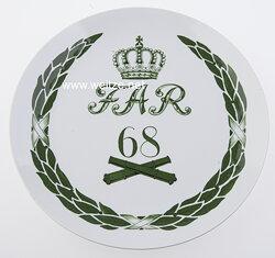 "Königreich Sachsen Meissen-Regimentsteller ""Kgl. Sächs. 6. Feld-Artillerie-Regiment Nr.68"""