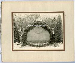 Foto Grabstein des Gefallenen Leutnant der Feldgendarmerie