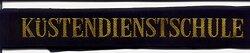 """Mützenband Bundesmarine """" Küstendienstschule """""""