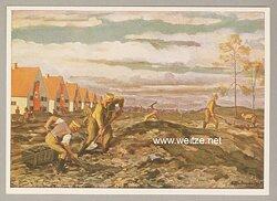 SA - farbige Propaganda-Postkarte -