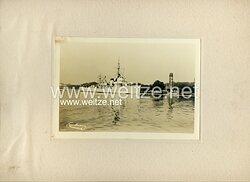 Pressefoto, Minensuchboot der Kriegsmarine