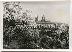 Pressefoto, Prag Hauptstadt des Protektorats Böhmen und Mähren 1939