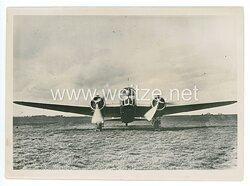 Pressefoto, Transportflugzeug der Achsenmächte