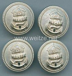 Kaiserliche Marine große Knöpfe für Offiziere technisches Personal