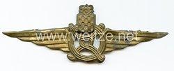 Kroatien 2. Weltkrieg : großes Mützenabzeichen für Angestellte der Eisenbahn