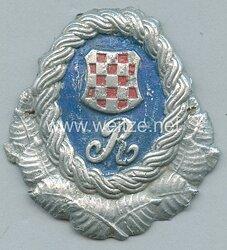 Kroatien 2. Weltkrieg Mützenabzeichen der Gendarmerie