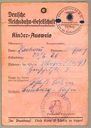 Reichszentrale Landaufenthalt für Stadtkinder e.V. Berlin - Kinder-Ausweis