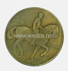 SA nichttragbare Auszeichnungsplakette der Wettkämpfe der SA-Reiterstandarte 34, 21.7.1935