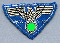 """III. Reich Postsport gestickter Hoheitsadler """"Zeesener Adler"""" für die Lagermütze"""