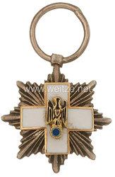 Ehrenzeichen vom Deutschen Roten Kreuz 1937-1939 Bruststern zur 1. Klasse - Miniatur