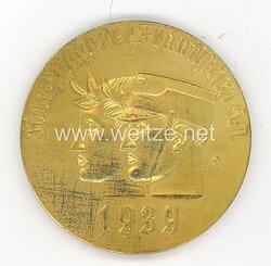 """SA nichttragbare Siegermedaille """"Kampftage der Fränkischen SA 1939 - Dem 1. Sieger"""""""