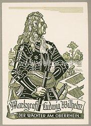 "III. Reich - farbige Propaganda-Postkarte - "" Grenzgau-Opfergau Kriegs-WHW 1939/40 - Opfertag des Grenzgaues Baden """