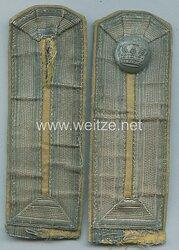 Preußen Paar Schulterklappen für Beamtenstellvertreter im Feldwebelrang Proviantamt, um 1915