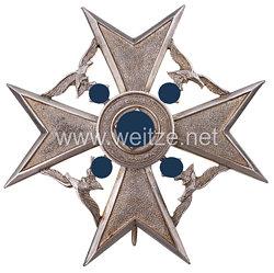Spanienkreuz in Silber mit Miniatur